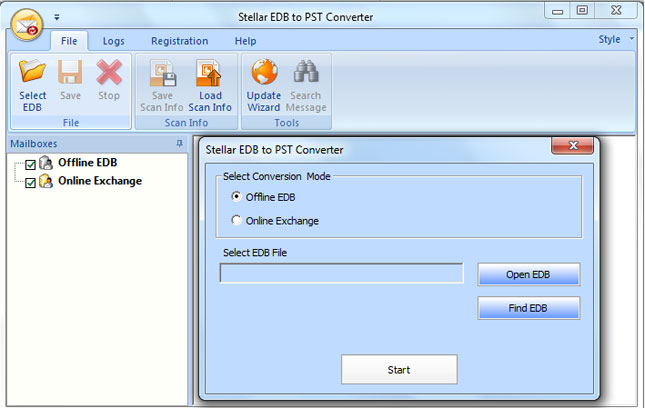 How to Convert Single or Multiple EDB files to PST