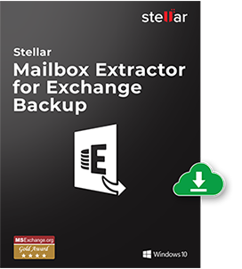 Stellar Mailbox Extractor for Exchange Backup Box