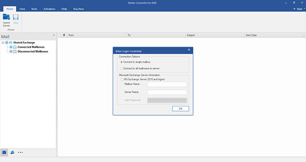 Stellar Converter for EDB screenshot